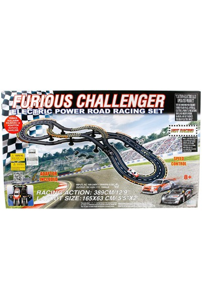 Furious Challenger Elektirikli Yarış Seti