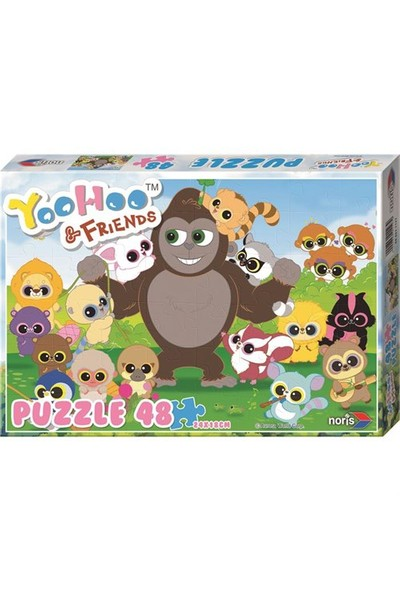 Noris Yoohoo&Friends Puzzle - İlkbahar
