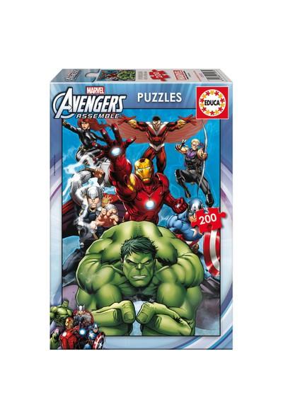Educa Çocuk Puzzle Karton 200 Avengers