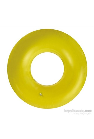 İntex 59262 Fosforlu Şişirilebilir Can Simidi 91 Cm (Sarı)