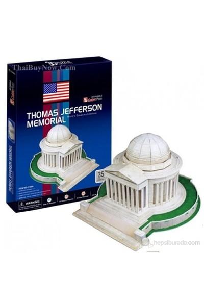 Cubic Fun 3D 35 Parça 3 Boyutlu Puzzle Thomas Jefferson Memorial