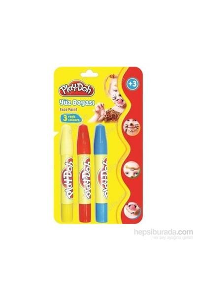 Play-Doh 3 Renk Yüz Boyası