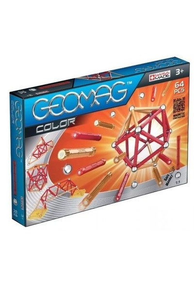 Geomag Manyetik Puzzle 64 Parça
