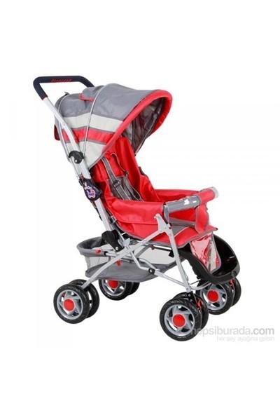 Babyhope Çift Yönlü Bebek Arabası 604 Kırmızı