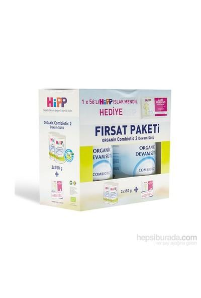 Hipp 2 Organik Combiotic Devam Sütü 350 gr - 2'li