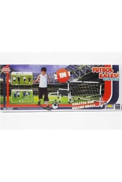 Sunman Futbol Set 2In1 Tek/Çift Kale Rıs