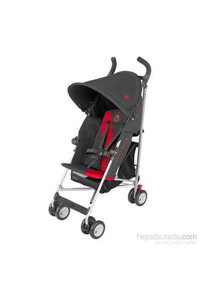 Maclaren Triumph Baston Bebek Arabası / Charcoal Scarlet
