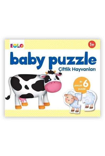 Eolo Baby Puzzle Çiftlik Hayvanları