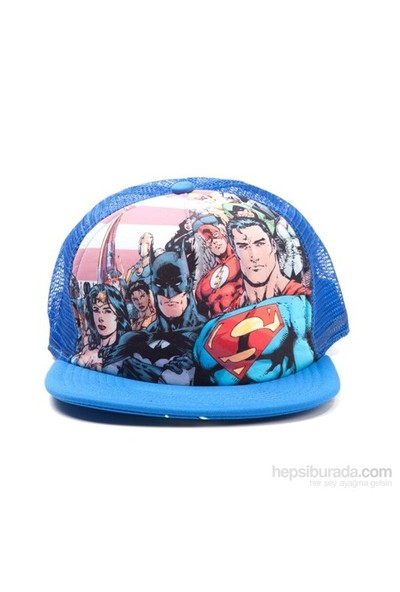 Justice League Snap Back Kep Şapka