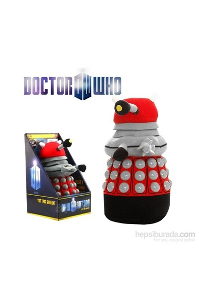 Doctor Who: Red Dalek Konuşan Dev Peluş 40 Cm