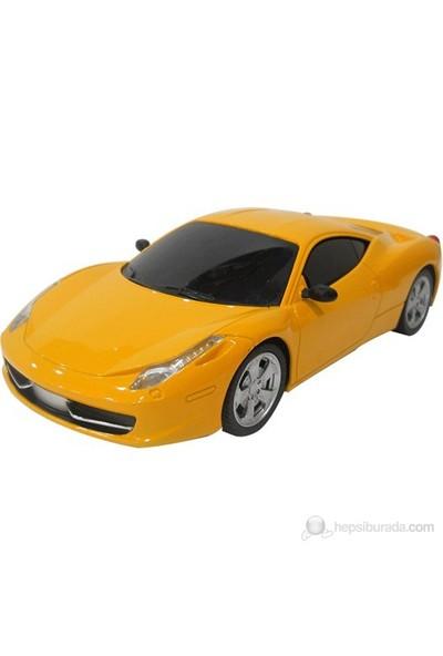 Uzaktan Kumandalı Şarjlı Spor Araba, Sarı