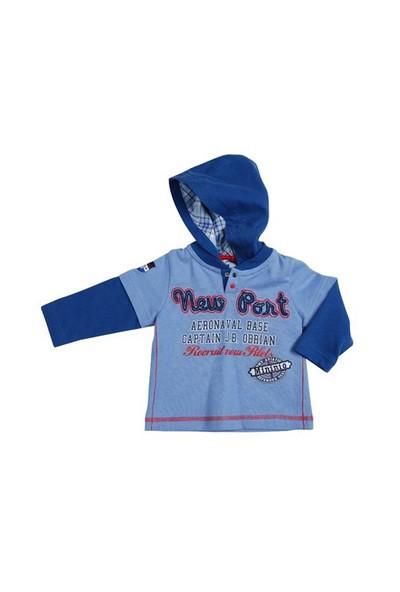 Zeyland Erkek Çocuk Acik Mavi S.Shirt K-Mm12wmpe63