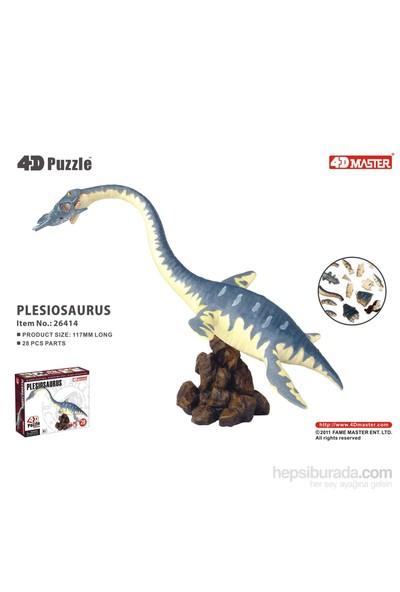 4D Master 3D Mini Puzzle Plesiosaurus