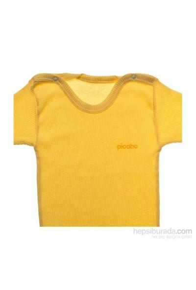 Picabo Uzun Kol Kaşkorse Body Sarı