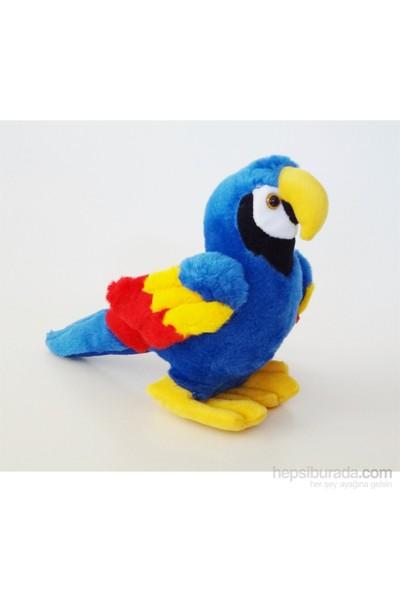 Bebemia Peluş Papağan - Mavi