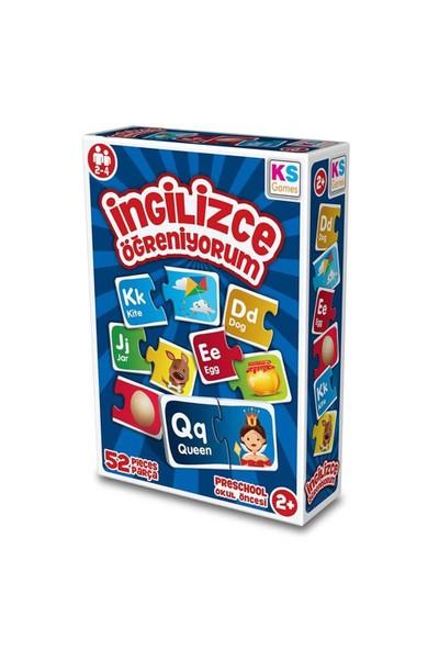 Ks Games Çocuk İngilizce Öğreniyorum 52 Parça Puzzle