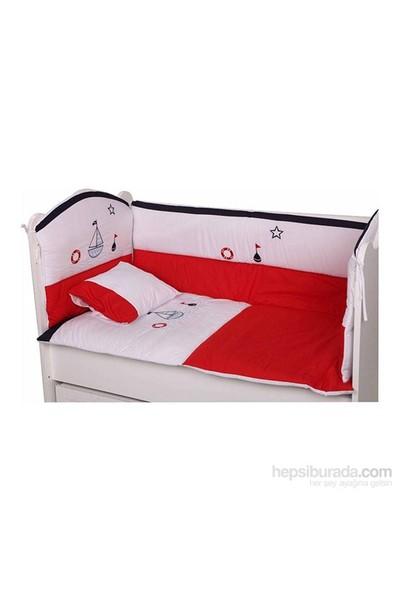 Babyhope Bebek Uyku Seti - Kırmızı Gemici 70*130