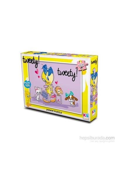 Warner Bros Tweety - Puzzle (Yapboz) 100 Parça