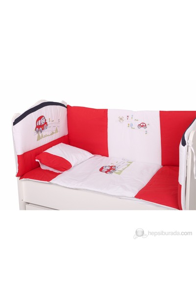 Babyhope Arabam Uyku Seti / Kırmızı ( 60x120cm )