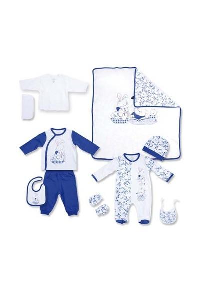 Zeylandkız Çocuk Koyu Mavi 10 Lu Hastane Cikisi Kutulu K-51H
