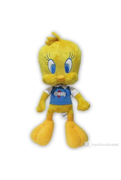 Looney Tunes Tweety 50 cm T-Shirtlü Peluş
