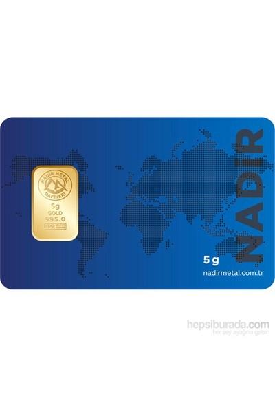 Nadir Gold 24 Ayar Külçe Gram Altın 5 Gr. - Aynı Gün Kargo