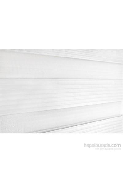 Brillant Zebra Pliseli 60X200 Beyaz Etek Dilimli