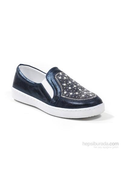 Sanbe Kız Çocuk Taşlı Günlük Ayakkabı
