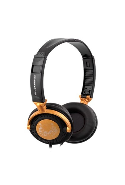 Goldmaster HP-291 Kulaküstü Siyah Turuncu Kulaklık