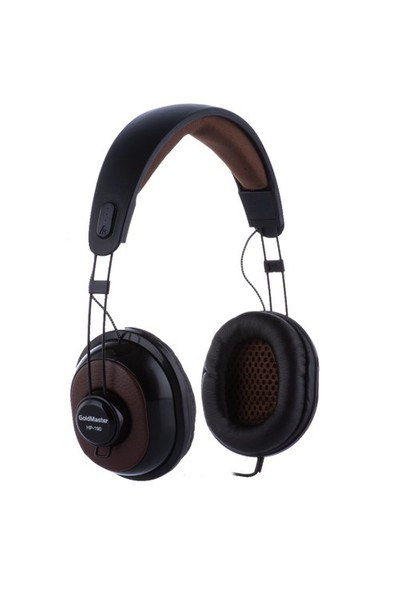 Goldmaster HP-190 Kulaküstü Siyah Kulaklık