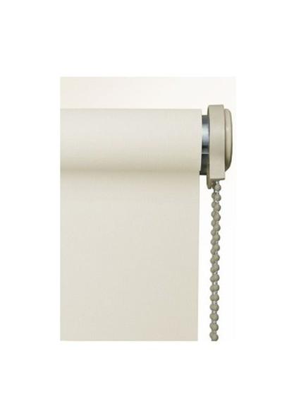 Brillant Etek Dilimli Ekru (Kırık Beyaz) Stor Perde 180X200