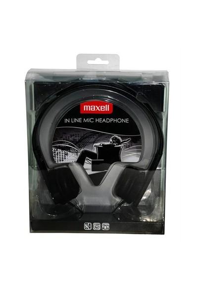 Maxell HP-MIC SİYAH Kulaküstü Kulaklık