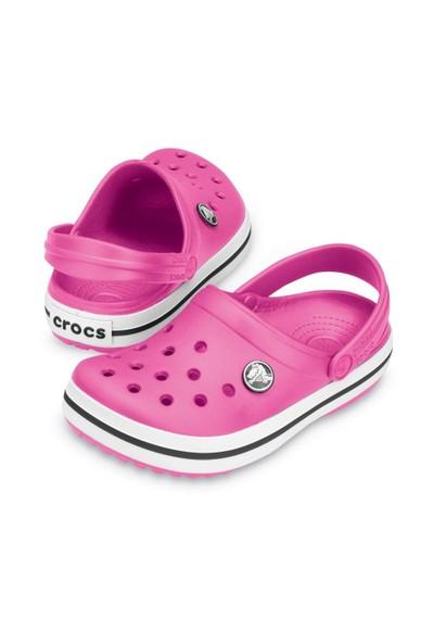 Crocs P022559-F09 Crocband Kids Fuchsia Sandalet