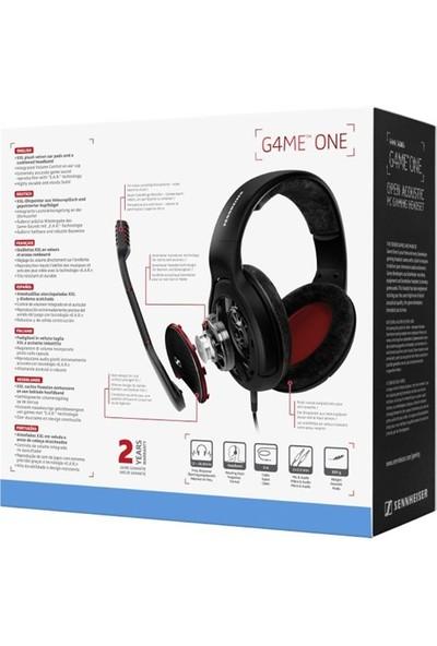 Sennheiser Game One Black Oyuncu Kulaküstü Kulaklık