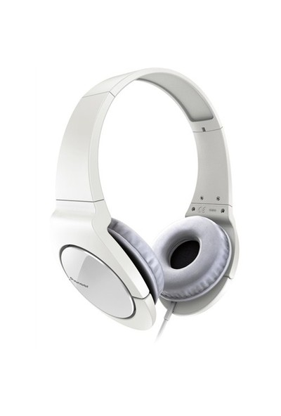 Pioneer SE-MJ721-W Beyaz Kulaküstü Kulaklık