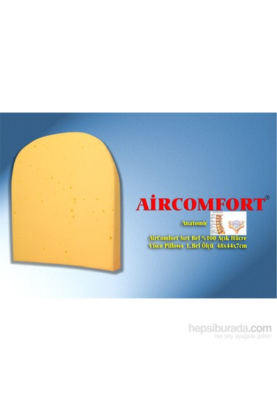 Aircomfort Sırt-Bel-Ense Pillows Anatomic Yastık 48 x 44 cm