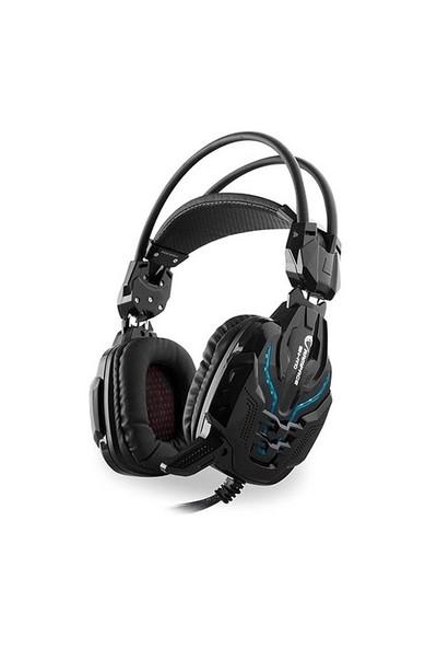 Rampage SN-R10 2m Kablo Led Oyuncu Siyah Mikrofonlu Kulaklık