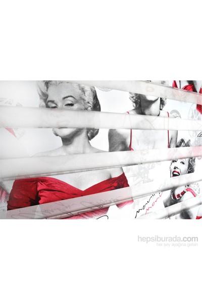 Brillant Zebra Perde Marilyn Monroe 70X200