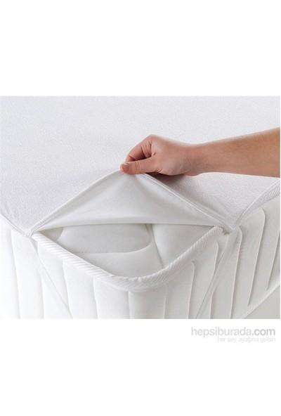 Walls Home Tek Kişilik Sıvı Geçirmez Alez 100X200-Beyaz (Yatak Koruyucu)