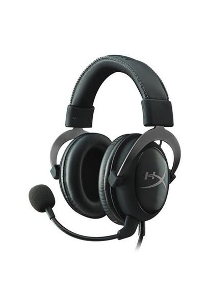 HyperX Cloud II Oyuncu Kulaklık Gri KHX-HSCP-GM