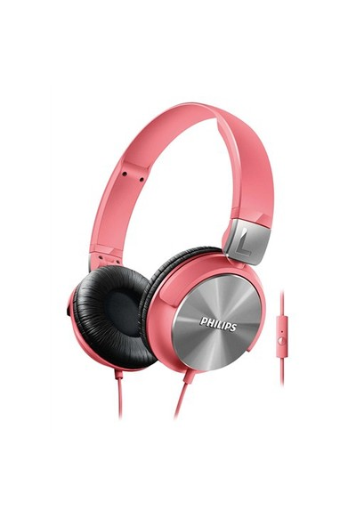 Philips SHL3165PK Mikrofonlu Pembe Kulaküstü Kulaklık