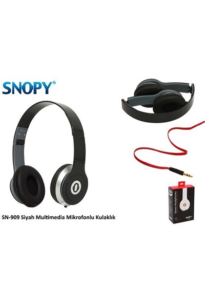 Snopy SN-909 Siyah Kulaklık