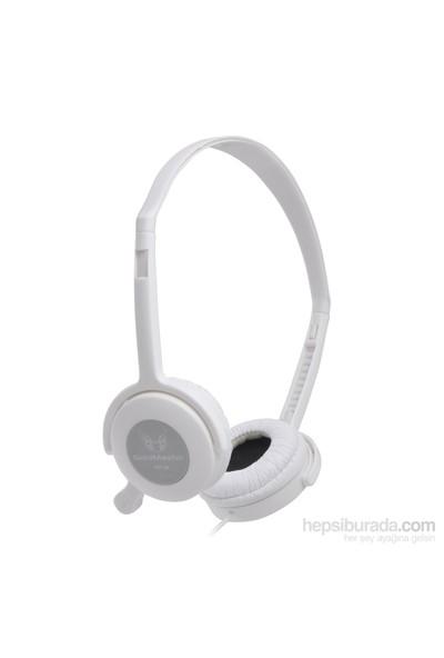 Goldmaster HP-31 Kulaküstü Beyaz Kulaklık