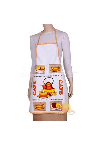 Marvella Home Mutfak Önlüğü (caffee beans)