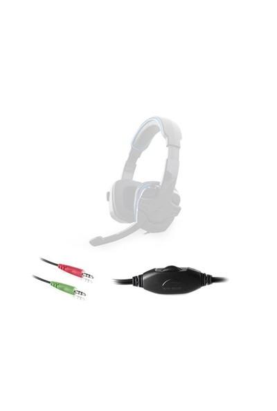 Rampage Sn-R9 Oyuncu Siyah/Mavi Mikrofonlu Kulaklık