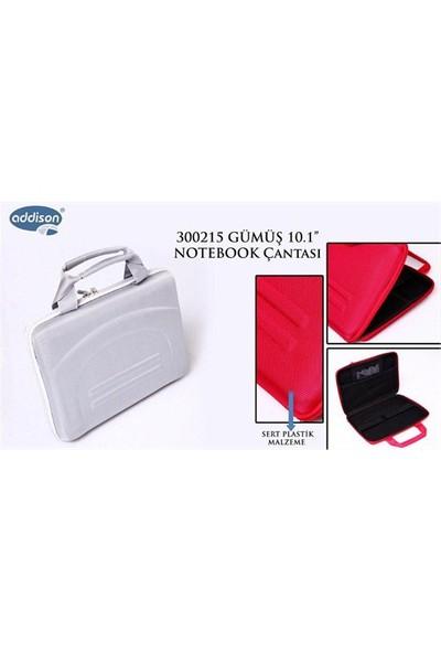 """Addison 300215 10.1"""" Gümüş Notebook Çantası (9286)"""