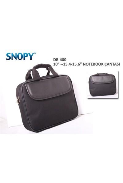 """Snopy DR-400 15"""" Siyah Bilgisayar Notebook Çantası"""