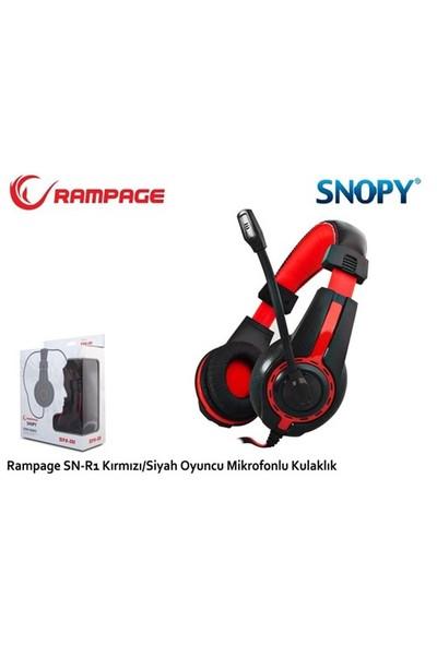 Rampage Sn-R1 Kırmızı/Siyah Oyuncu Mikrofonlu Kulaklık
