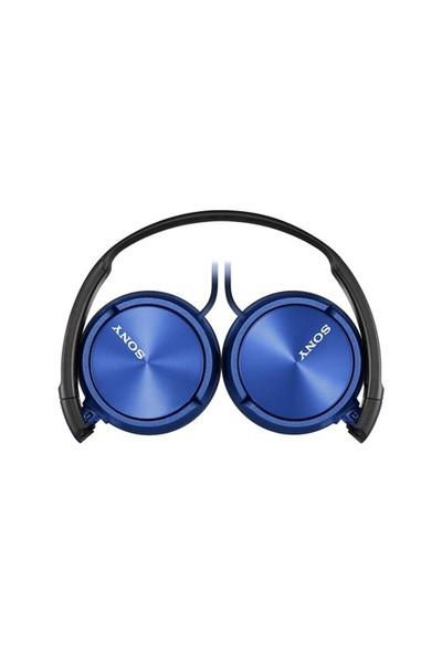 Sony MDR-ZX310APL Kulaküstü Mavi Kulaklık Mikrofonlu