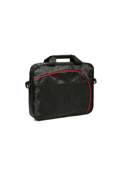 Cast Çanta 15607 15.6 Siyah-Kırmızı Notebook Çantası